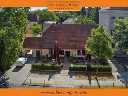 Exklusives Wohn-/Geschäftshaus mit Remise und großem Grundstück