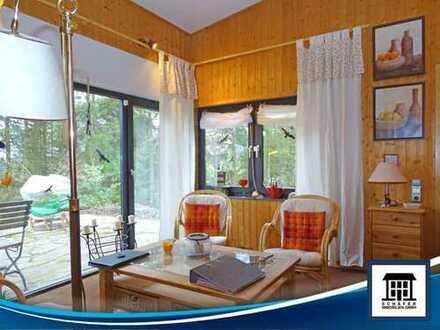 Idyllisches Ferienhaus, voll möbliert mit Einbauküche und großem Garten!