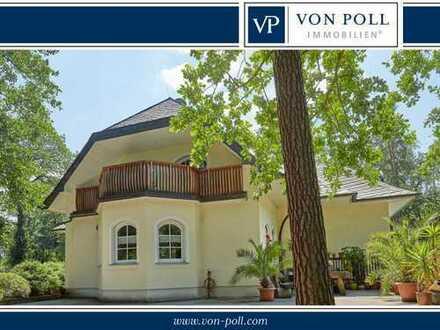 Repräsentatives großzügiges Anwesen am Waldrand mit Top Anbindung nach Leipzig!