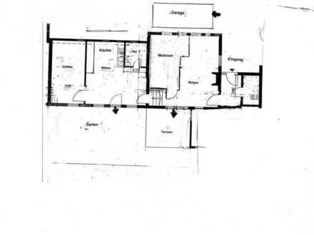 3 Zi- Bungalow Wohnung mit Garten in Gomaringen