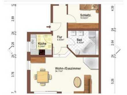 Schöne zwei Zimmer Wohnung in Gelnhausen