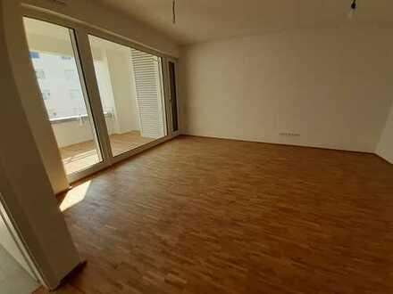 Tolle 4-Zimmer-Wohnung in Mainz am Zollhafen - Erstbezug mit Einbauküche, Loggia und Tiefgarage
