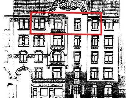 Courtagefrei direkt vom Eigentümer, 3-Zimmer-Altbau Wohnung mit Balkon