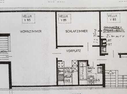 3-Zimmer Dachgeschoss Wohnung
