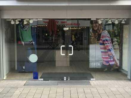 Ladenlokal in 1A Lage von Wesel zu vermieten