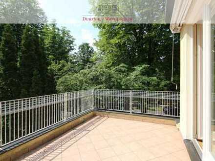 Toplage in Nymphenburg Teilmöblierte 5-Zimmer-Wohnung mit Terrasse