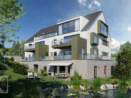 Stilvolle und wohngesunde Gartenoase mit großer Süd-Terrasse in Top-Lage