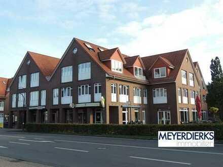 Wardenburg - Oldenburger Straße: große 3 Zimmer-Wohnung (111 m²) mit EBK im Zentrum von Wardenburg
