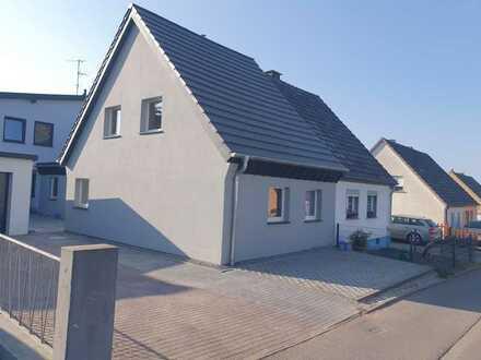 Modernisiertes Haus auf der Weismark