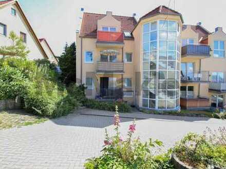 Ferienidyll: Gepflegte 2-Zi.-ETW mit Terrasse im Zentrum von Bergen auf Rügen
