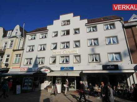 Wohn- und Geschäftshaus in Toplage von Westerland