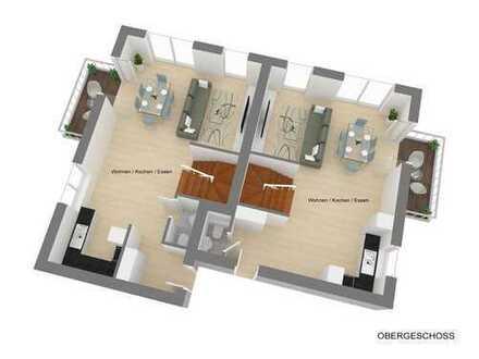 Über zwei Etagen: Traum-Neubau- Maisonette in Citynähe
