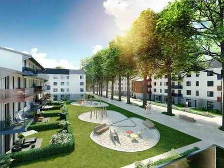 Sonnige 3-Zi.-WE mit Blick ins Grüne. Neubau, Westbalkon, grün, elbnah.