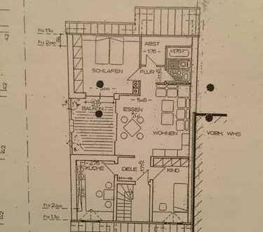 Modernisierte 4-Zimmer-DG-Wohnung mit Balkon und EBK in Münster
