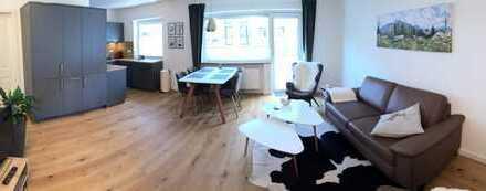 wunderschöne möblierte 3-Zimmer-Wohnung (ruhig / grün)