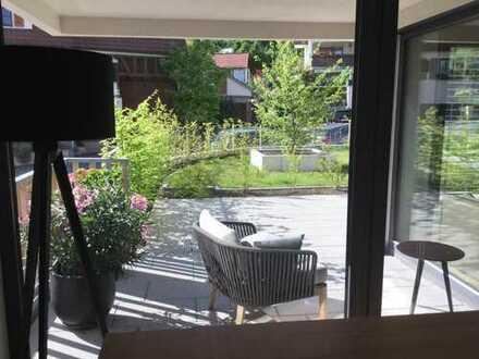 Moderne drei Zimmer Wohnung in idyllischer Lage in Böblingen (Kreis), Herrenberg
