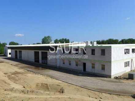 Neubau-Gewerbepark - 3 Hallen mit jeweils ca. 1.200 m² - ab Mitte 2019