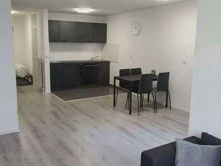 Neu Renovierte und möblierte 1,5 Zimmer-Erdgeschoss-Wohnung in Deizisau