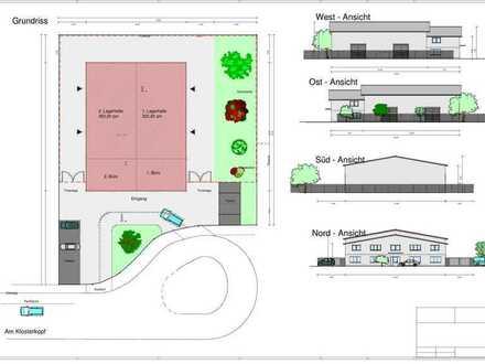 MKK*Neubauprojekt* Lager-/Produktionshalle mit Büro & flexibler Gestaltung zum Mieten