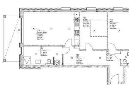 Großzügige 3-Zimmer-Wohnung im Herzen vom Moritzberg
