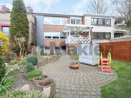 Attraktive Chance: Bewohnte 5,5-Zi.-ETW inkl. 2 Terrassen, Garten u. Garage in Kray (Essen)