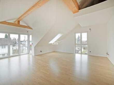 Neubau-Dachgeschosswohnung mit Weitblick