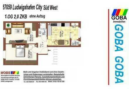 Lu Süd West Heinigstrasse 1.1.2020 o. später-1.OG 2,0 ZKB 52 m² auch 2er Stud WG !