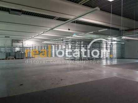 gepflegte Halle für Lager/Produktion mit umfangreicher Freiflächennutzung (ca. 7.000 m²)