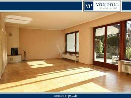 VON POLL - BAD HOMBURG: Exklusives Doppelhaus im ehemaligen Park - großzügiges Wohnen für 2 Personen