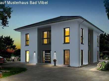 Traumhaus mit Fußbodenheizung, Bodenplatte und inklusive Grundstück! KFW 55 (Hanglage)