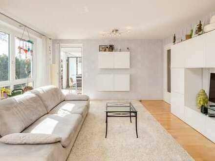 Moderne, helle 3-Zimmer Wohnung mit Südterrasse