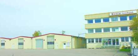 Produktions-/Lagerhallen mit Bürogebäude, vielseitige Verwendungsmöglichkeit-PROVISIONSFREI