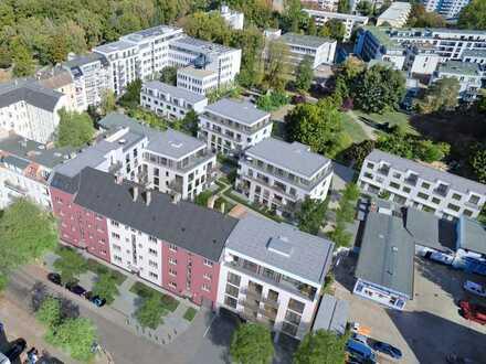 5-Zimmer-Wohnung mit Gartenfläche und Süd-Terrasse, Gartenhaus 5