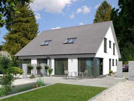 Bauen Sie ein Doppelhaus mit ALLKAUF und und freuen sich über hohe Mieteinnahmen