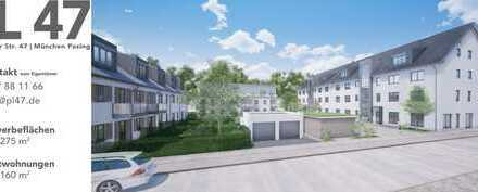 Neubau Wohnanlage mit Gewerbeflächen (als Laden- und Bürofläche geeignet)