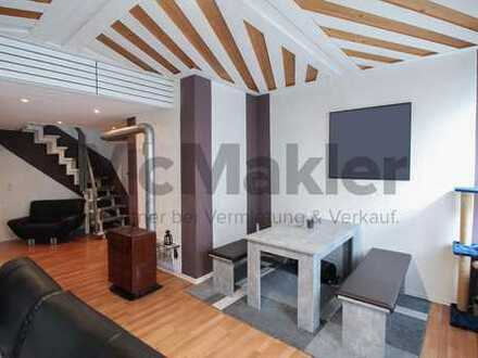 Gestaltungspotenzial in der Altstadt: 3-Zi.-REH mit Dachterrasse nahe Heilbronn