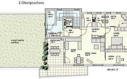 """Komfort-ETW mit Dachterrasse """"Haus an der Odeborn"""" - Nähe Stadtpark Bad Berleburg"""