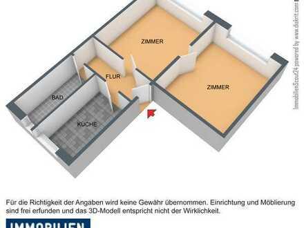 Zwei-Raumwohnung mit schönem Blick über Oberhof