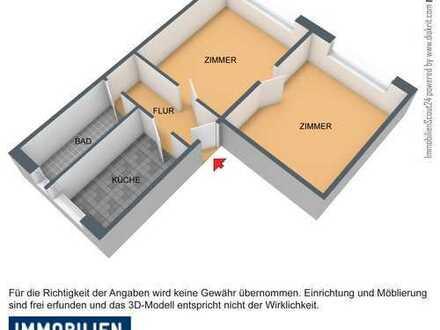 sanierte Wohnung mit 2 Zimmern