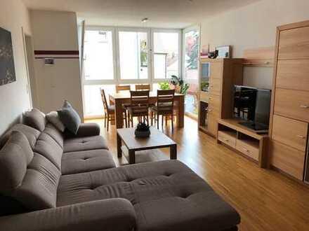 schöne, helle voll möblierte 2-Zimmer-Wohnung in der Stadtmitte von Donauwörth