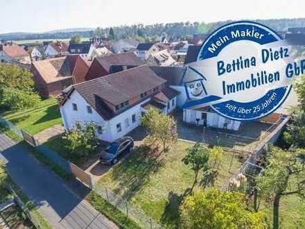 DIETZ: 2-3 Familienhaus in einer TOP-Feldrandlage von Babenhausen OT - NUR 5km bis Dieburg!