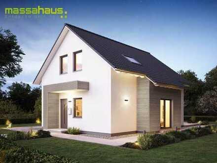Durch Eigenleistung zum Traumhaus mit Keller !