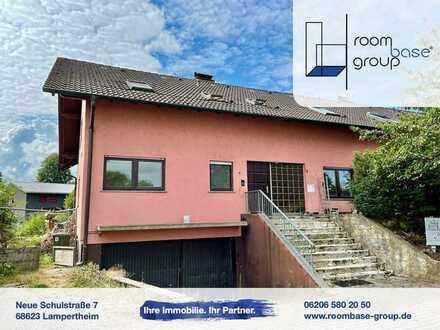 Schön aufgeteilte Dachgeschosswohnng in Mörlenbach!