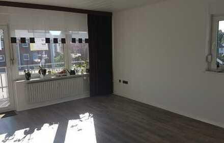 Hier können Sie sofort einziehen 3,5 Zimmer Wohnung mit Balkon und Garage. Top Wohnlage.