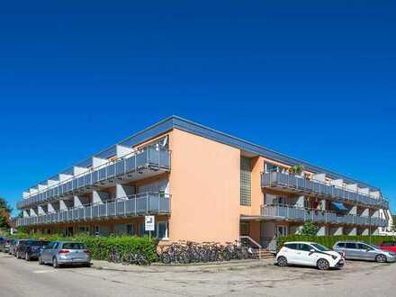 MAIER - Sofort verfügbar! Appartement mit Westbalkon und Stellplatz
