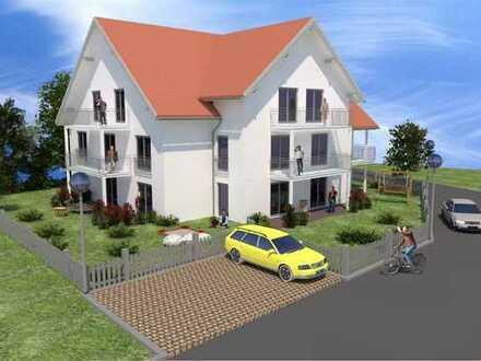 Neubau: 98m² im Dachgeschoss KFW 55, Balkon, Aufzug, Tiefgarage in zentraler Lage von Buchloe!