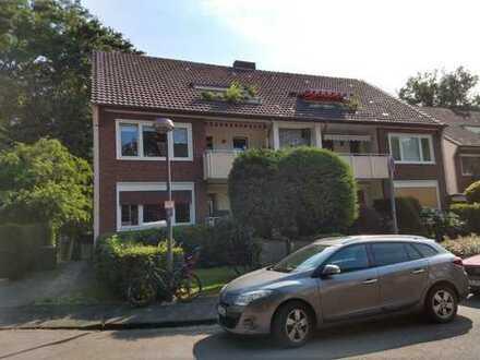 Schöne 4-Zimmer-Wohnung mit Gartennutzung und Balkon