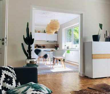 Schöne, helle zwei Zimmer Wohnung in Kiel mit Garten, Düsternbrook