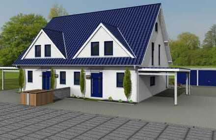 Schnuckelige Doppelhaushälften mit kleinem Garten zum erschwinglichen Preis
