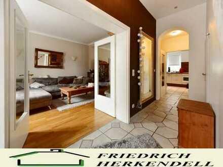 Parkettböden + Süd-West-Garten + stadtnahe Wohnlage + Küche VB
